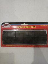 Atlas #790 4pc Ho Flatcar Grinder Load
