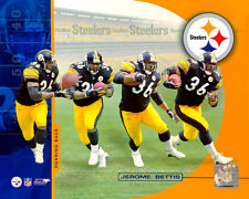 JEROME BETTIS Multi-Xposure Pittsburgh Steelers LICENSED poster print 8x10 photo