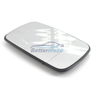 FOR BMW 3 / 5 SERIES E46 E39 DIRECT WING MIRROR GLASS WHITE HEATED RIGHT OR LEFT