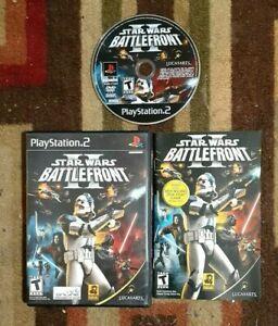 Star Wars: Battlefront II Complete (PlayStation 2, 2005) VG Shape & Tested