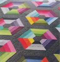 Calippo - beautiful pieced quilt PATTERN - Free Bird Designs