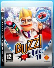 Buzz QUIZ TV + 4 Wired BUZZERS PS3