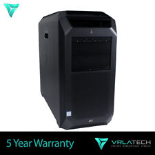 HP Z8 G4 Workstation 128GB RAM 2x Gold 6154 2x 8TB & 1x 1TB PCle P5000
