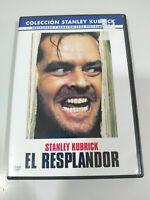 El Resplandor Stanley Kubrick Jack Nicholson - DVD Español Ingles - 3T