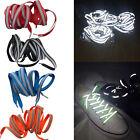 1pc LED Flash Luminous Light Up Glow Nylon Strap Shoelace Shoe Laces Party Disco