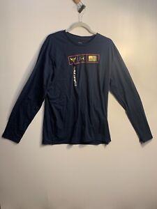 Under Armour Men's L Project Rock Respect Graphic Long Sleeve Shirt 1346108-408
