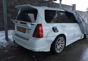 Wing Spoiler HD_Tuning for subaru forester SG 2002-2007