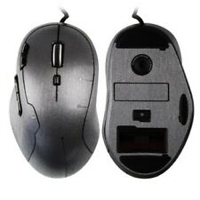 Skinomi Full Body Brushed Steel Gaming Mouse Cover  Skin for Logitech G500