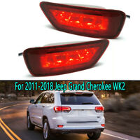 LED Rear Bumper Light For 2011-2018 Jeep Grand Cherokee WK2 Compass 2011-2016