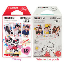 20 Sheets Winnie and Mickey Fujifilm Instax Mini Film Fr Mini 9 8 8+ 7s 70 90 25