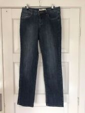 "Womens STRETCH JUST JEANS JEANS SIZE 11 ""MID RISE STRAIGHT LEG"""