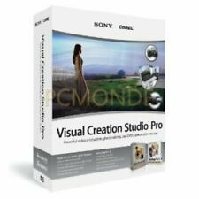 Corel Sony Visual Creation Studio Pro vcsp 1 engpc svcsp 6000