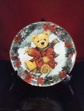 Teddy's Winter Wonderland Collector Plate Franklin Mint