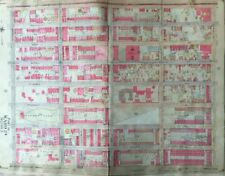 1904 CROWN HEIGHTS BROOKLYN NY BEDFORD PARK COMMERCIAL HIGH SCHOOL ATLAS MAP