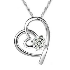 Crystal White Gold Plated Fashion Necklaces & Pendants