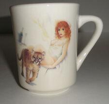 Beautiful Cool Cougar with Cougar red head Nip Slip Mens Ceramic Coffee Mug New
