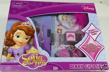 Disney Sofia the First Diary Stamper Pen Stickers Gift Set 3+ New