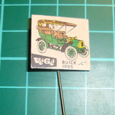 antique car Buick 1905 stick pin badge 60's lapel speldje a6