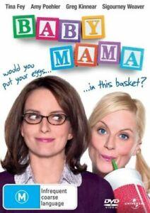 BABY MAMA DVD Comedy Movie 2008 Tina Fey - SAME / NEXT DAY POST from SYDNEY