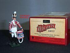 Britains 44013 GIUBBE ROSSE inglesi Coldstream Guards batterista 1815 giocattolo Soldato