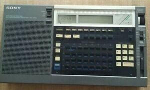 Sony ICF-2010 radio receiver (Air/FM/LW/MW/SW) works and tested japan