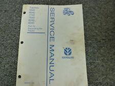 New Holland 5640 6640 7740 7840 8240 8340 Tractor Service Repair Manual Part 12