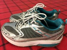 TRIMSTEP XZORB WOMEN'S Sz 9.5 GRAY/TEEL THICK OUTSOLE PREMIUM ATHLETIC SHOES