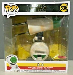 "Funko POP! Star Wars: The Rise of Skywalker - 10"" D-O (Target) - Damaged Box"