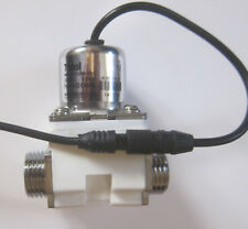 1/2 inch Latching Pulse Solenoid Valve NPSM Water 6 VDC Low Power USA Ship