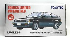 JAPAN TOMYTEC TOMICA LIMITED VINTAGE NEO LV-N22a HONDA CR-X CRX SI 1/64 DIECAST