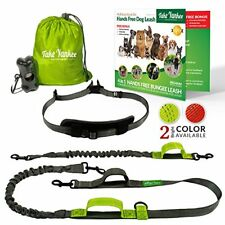 Hands Free Dog Leash for Running Training Walking Waist Belt