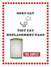 40ct Kozy Kat Generic Breeze Litterbox Pads Same Quality Less $$$ Free Samples