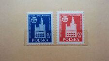 Polonia 1955/cat. fischer nº 773 - 774 post fresco/mnh (**)