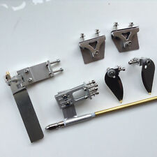 95mm Rudder Strut 4mm Cable Set Turn Fin Trim Tab for Electric Nitro Boat 1189