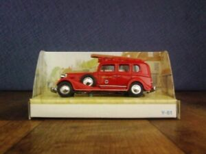 Matchbox Models of Yesteryear Y-61 1933 Cadillac Fire Engine