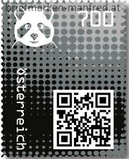 Crypto Stamp 2.0 Panda Schwarz Postfrisch ** MNH AUSVERKAUFT