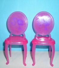 %***Barbie Möbel, 2 Stühle mit Rückenlehne***%