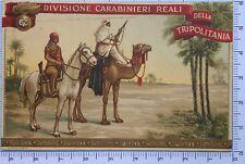 427) Cartolina Campagne d'Africa Divisione Carabinieri Reali della Tripolitania