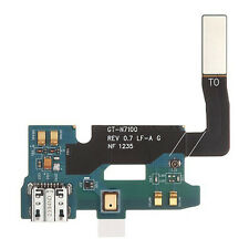 PLANO Flexible Usb MUELLE VOLVER A CARGAR para Samsung GALAXY NOTE 2 II N7100
