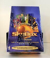 1995-96 Skybox Premium Series 1 Factory Sealed Hobby Box! Michael Jordan Error