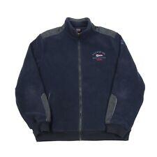 Vintage PAUL & SHARK Yachting Thick Fleece Jacket | Men's L | Retro Coat Zip
