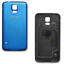 Couvercle Batterie partie arrière Coque Panneau pour Samsung Galaxy S5 Bleu