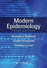 Modern Epidemiology, Rothman, Kenneth J., Greenland, Sander, Lash Associate Prof