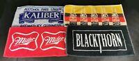 Kaliber Gold Label Miller Blackthorn Towels Beer Mats Cave Home Bar Bundle of 4