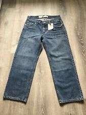 Nwt Women's  Levi's 550 Relaxed  Fit Tapered Leg Jeans Size 10 Husky W30 X L26