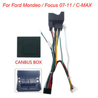 16PIN Car Android Power Cord W/ Canbus Box For Ford Mondeo / Focus 07-11 / C-MAX