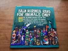 Lp-BAJA MARIMBA BAND-For Animals Only-Julius Wechter-1965-EX