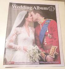 *NEW* ROYAL WEDDING NEWSPAPERS The Wedding Album Prince William & Kate Middleton