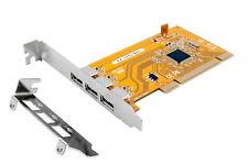 Exsys EX-1083 - Tarjeta PCI USB 2.0 Mit 3 Puertos Incl. LP Defecto ( Nec Chips )