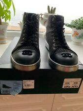 Must Have Chanel High Top Boots Sz 40 1/2 10.5